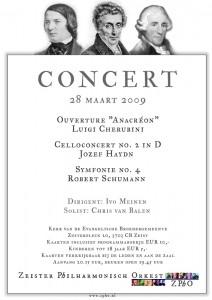 Poster voorjaar 2009