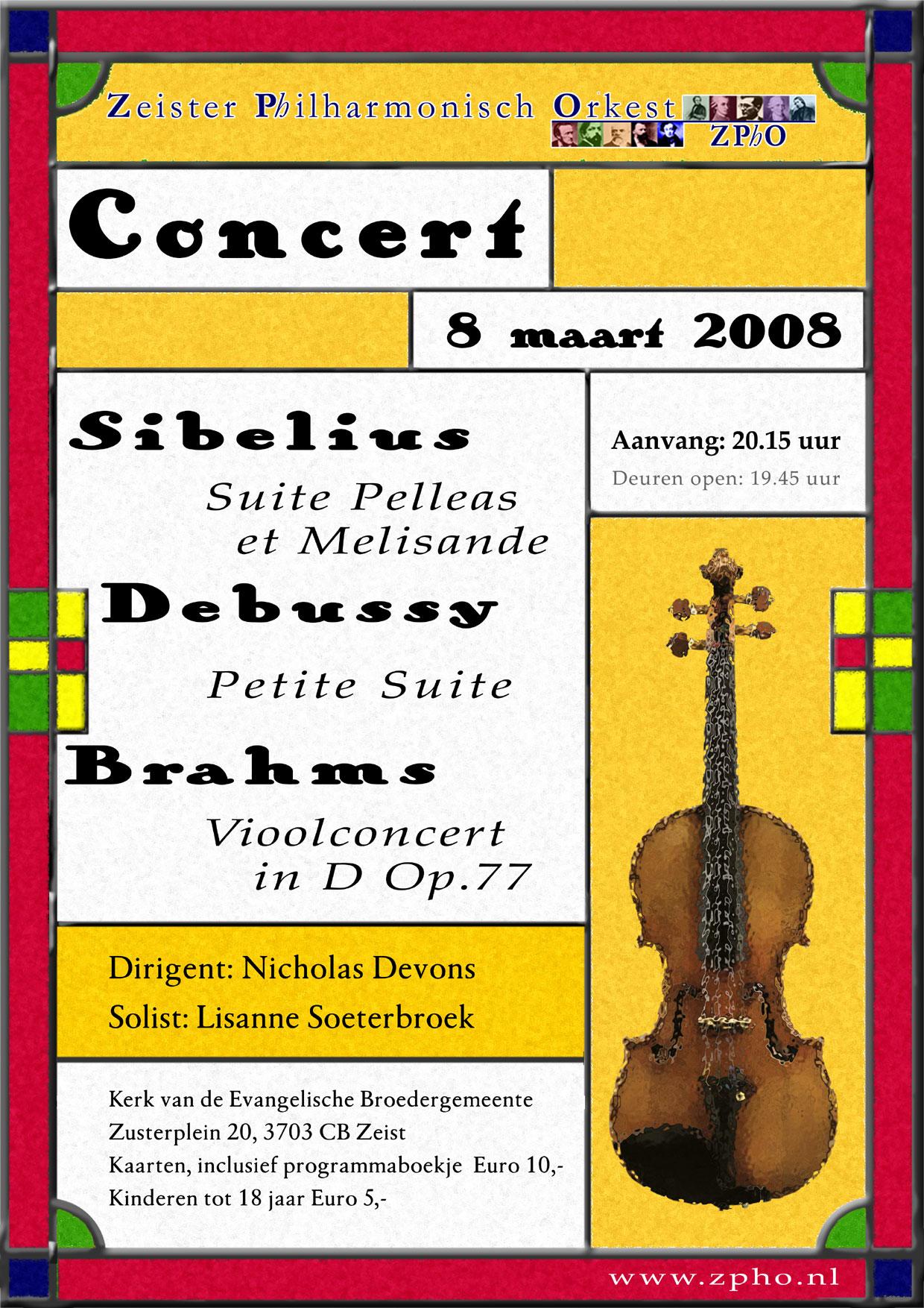 Poster maart 2008